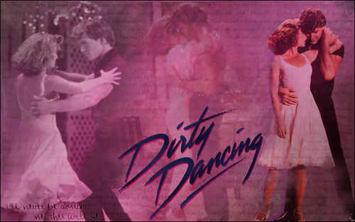 Dirty Dancing karatasi la kupamba ukuta titled Dirty Dancing