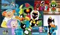 Duck Dodgers collage wallpaper