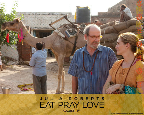 Eat Pray upendo karatasi la kupamba ukuta