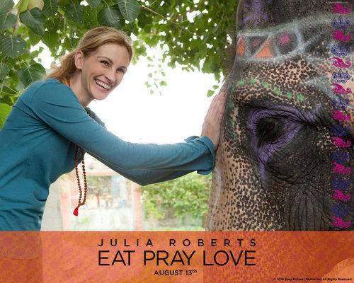 Eat Pray amor wallpaper