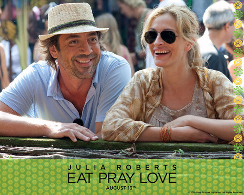 Eat Pray amor wallpaper