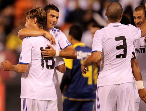 El Madrid vs América (3-1)