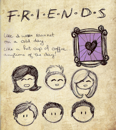 friends Drawing