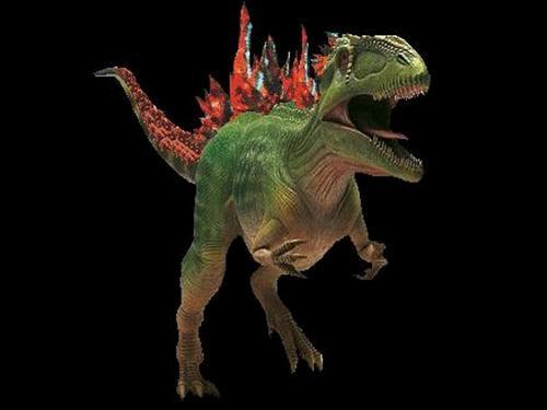 Godzilla realistic 2 wallpaper