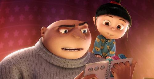 Gru and Agnes
