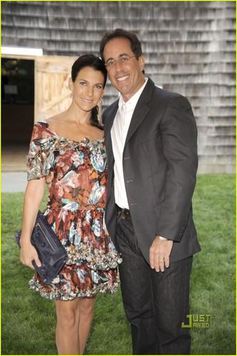 Gwyneth Paltrow & Jerry Seinfeld: Baby Buggy Summer Dinner!