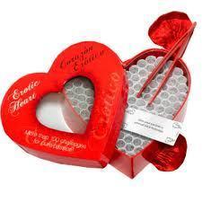 दिल shaped box