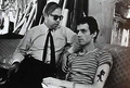 Henry Geldzahler + Billy Name - andy-warhol photo