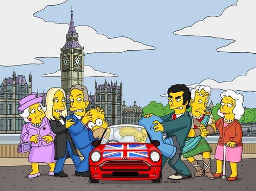 Homer in England