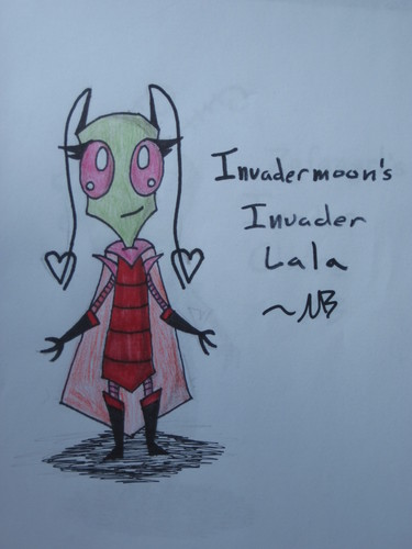 Invader Lala New Outfit