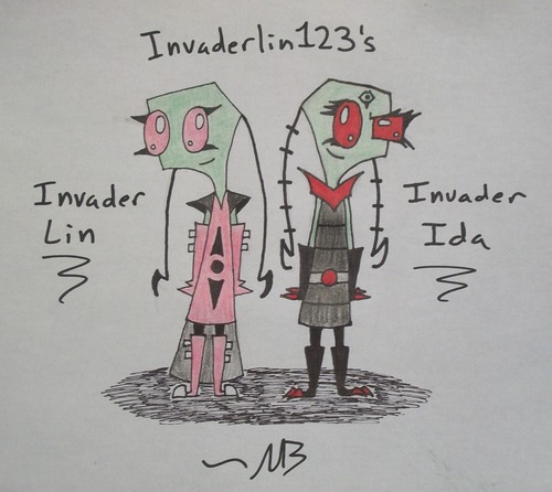 Invader Lin and Ida New Outfit
