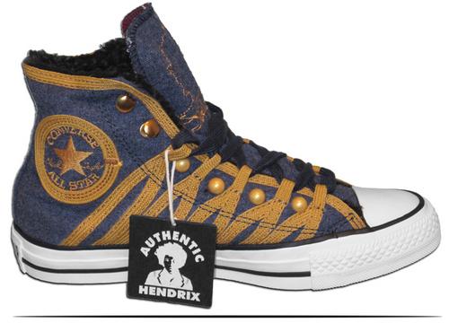Jimi Hendrix jas Converse All Stars