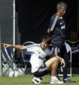 Kaká - Real Madrid Training