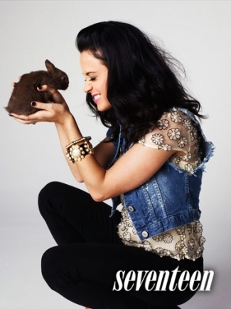 Katy Perry Seventeen Magazine Photoshoot