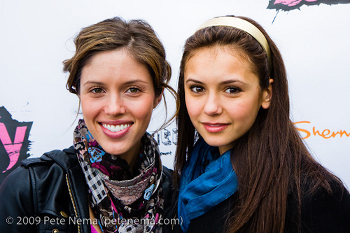 Kayla Ewell & Nina Dobrev