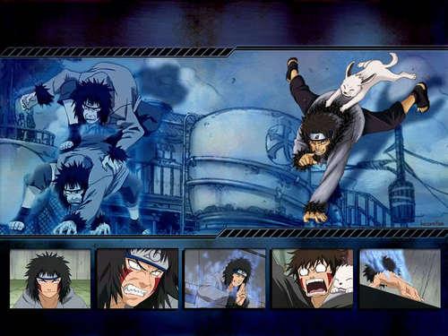 animé fond d'écran titled Kiba Inuzuka fond d'écran
