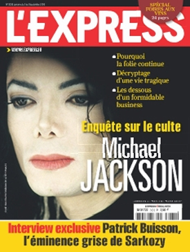 MJ Magazine Cover