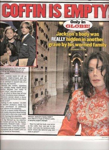MJ hoax