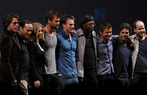 "Marvel Studios' ""Captain America: The First Avenger"" - Panel - 2010 Comic-Con"