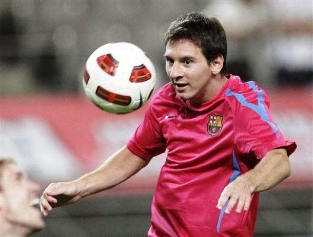barcelona fc messi. Messi - FC Barcelona Training