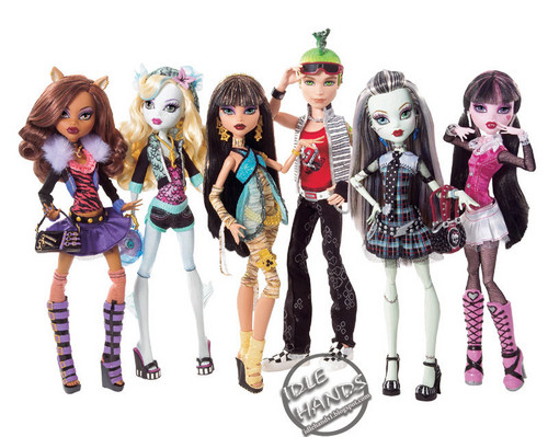 Monster High achtergrond titled Monster High Dolls