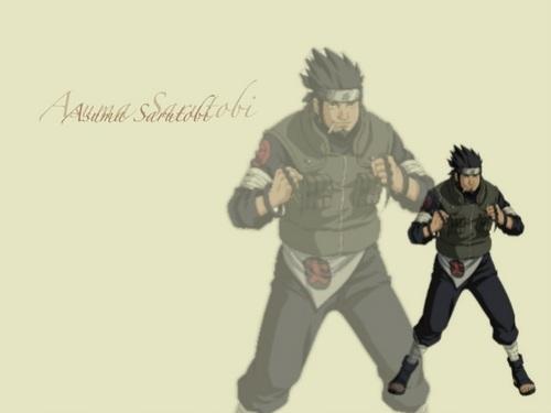Naruto character kertas-kertas dinding