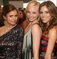 Nina Dobrev, Candice Accola, & Kayla Ewell