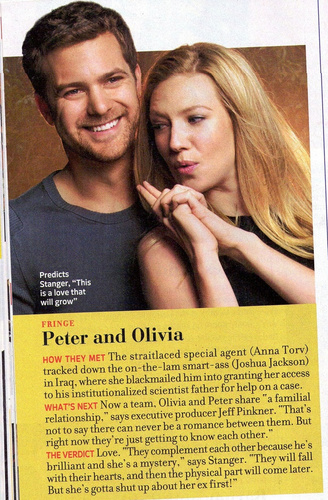 Peter and Olivia