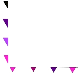 Pink & Purple Triangle Border