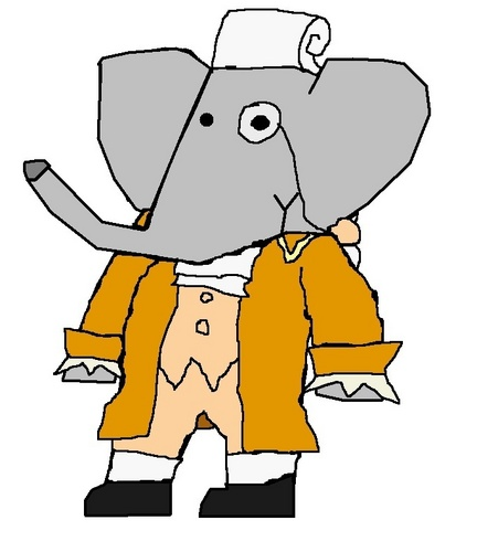 Pompadour - babar-the-elephant Fan Art