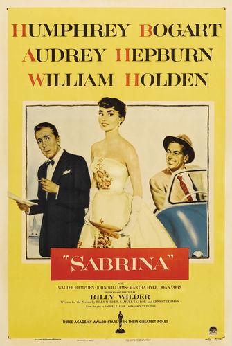 Sabrina (1954) wallpaper titled Poster Art