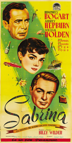 Sabrina (1954) wallpaper called Poster Art