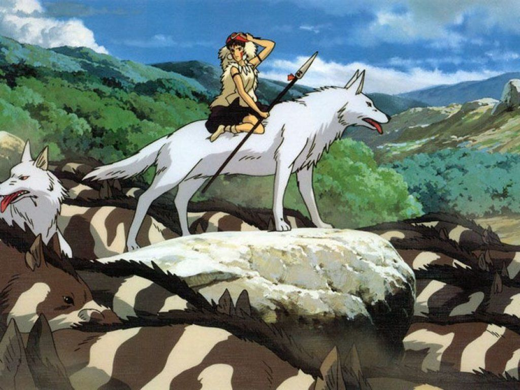 Princess Mononoke Hayao Miyazaki Wallpaper 14490117 Fanpop