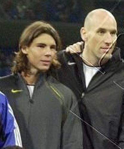 Rafa and Jan Koller