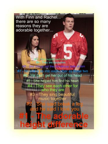 Reasons Why Finn & Rachel Belong