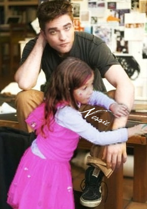 Renesmee and Edward
