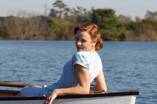 Renesmee on a lake