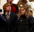 Romione(ロン&ハーマイオニー) - Harry Potter & The Deathly Hallows: Part I - Behind The Scenes & On The Set