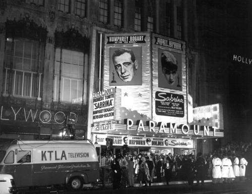 Sabrina (1954) wallpaper entitled Sabrina Premiere