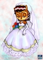 Sally's Wedding Dress colored