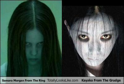 Samara looks like Kayako