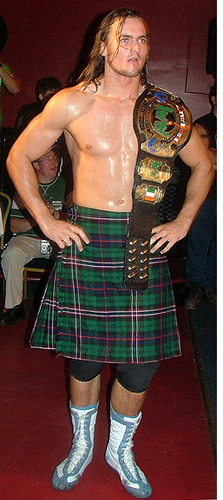 Scottish wrestler