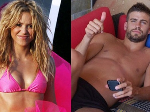 Shakira and Gerard Piqué naked 2