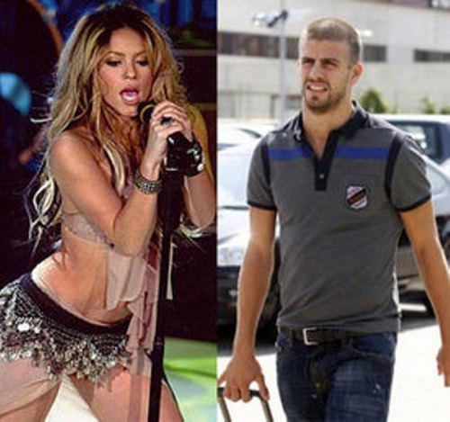 Shakira and Gerard Piqué sexy