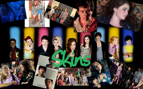 Televisione wallpaper titled Skins