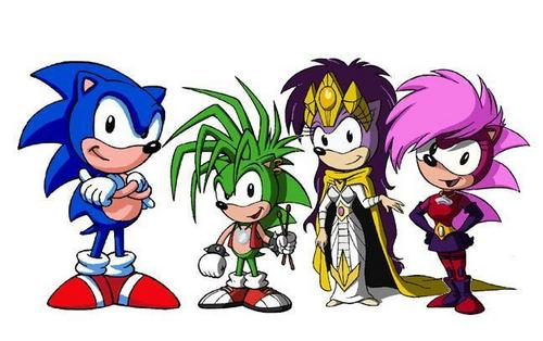Sonic's Royal Family
