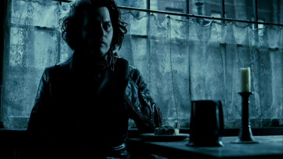 the visual elements and style in sweeney todd the demon barber of fleet street a movie by tim burton Gifs animation movie fashion style vintage sweeney todd, demon barber of fleet street- best movie quotes from movies tim burton fleet street movie tv.