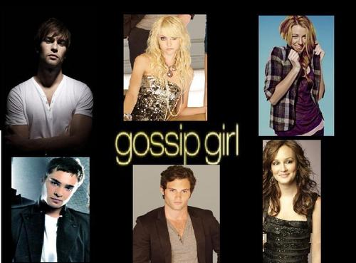 THE MAIN CHARACTER OG GOSSIP GIRL