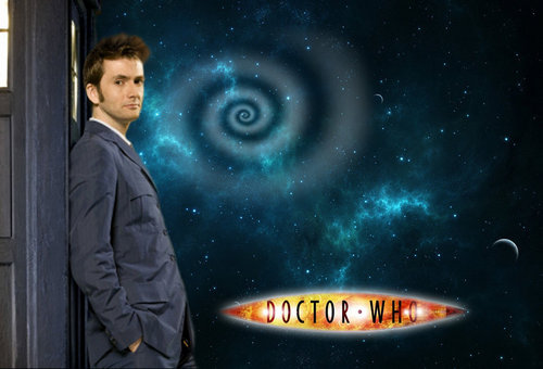 Tenth doctor scrivania, reception superiore, in alto