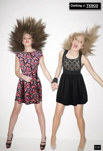 Tesco Clothing ad.